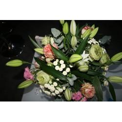 Bouquet varier  lys et rose...