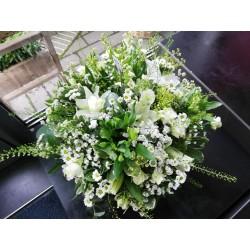 montage panier champêtre blanc