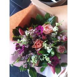 Bouquet mixe de fleurs